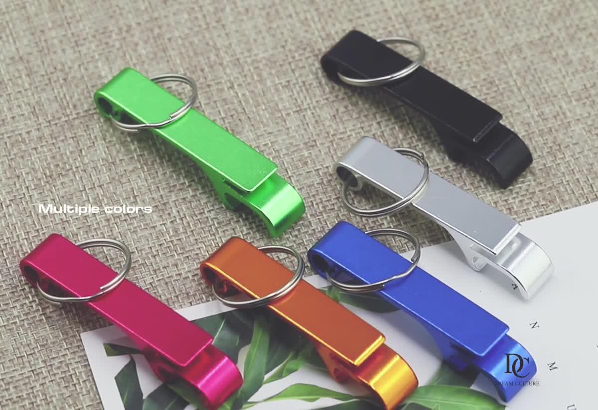 fashion metal blank  key bottle opener