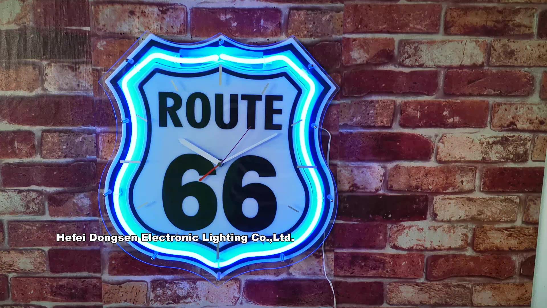 Route 66 Neon saat