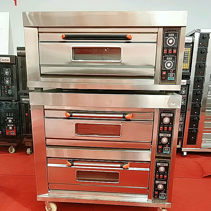 Wholesale Commercial Bakery Equipment Industrial Electric Cake Bread Baking Oven