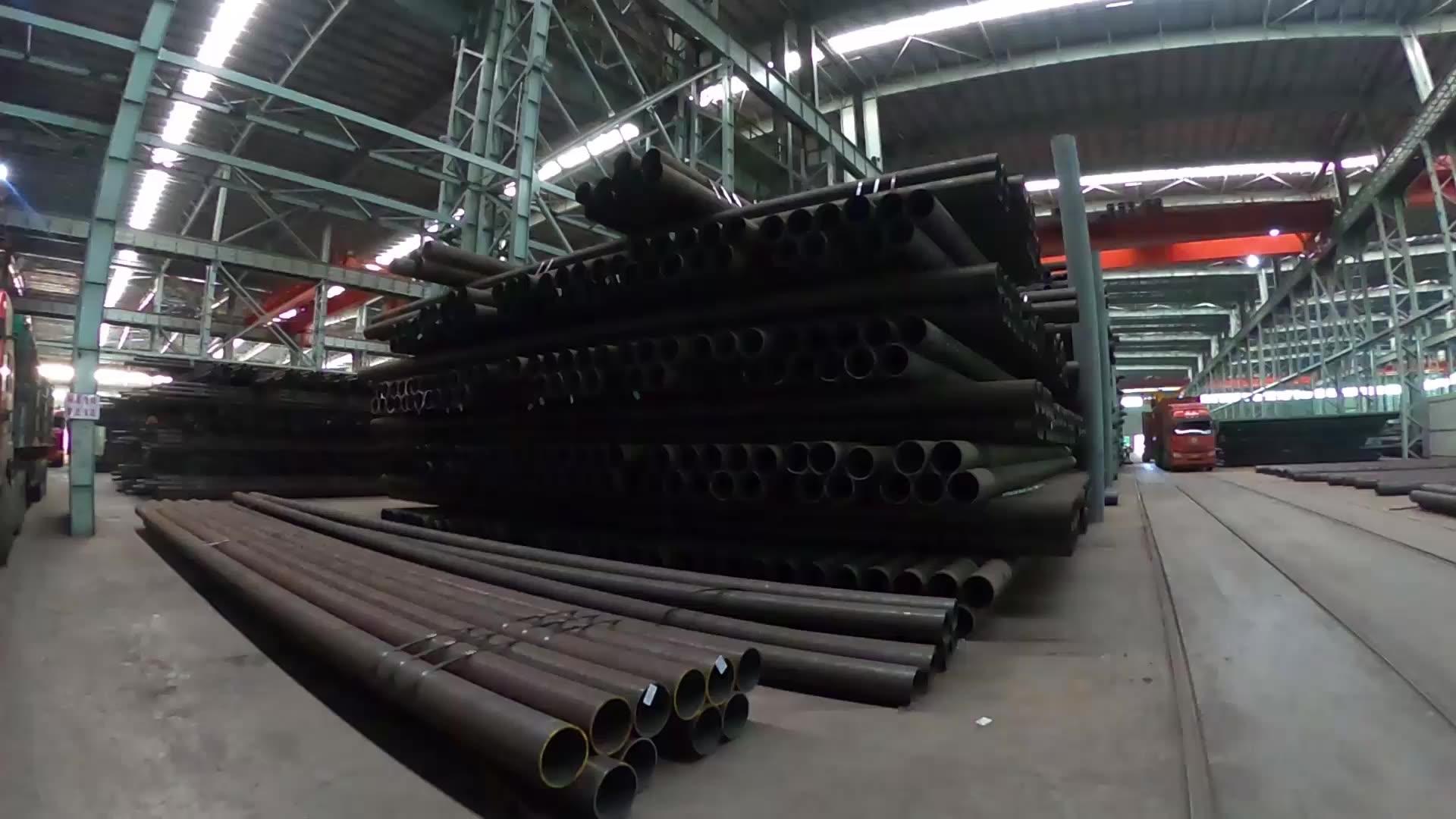 Оцинкованная углеродистая сталь бесшовные трубы и Трубогибочные машины 170 мм диаметр стальной трубы