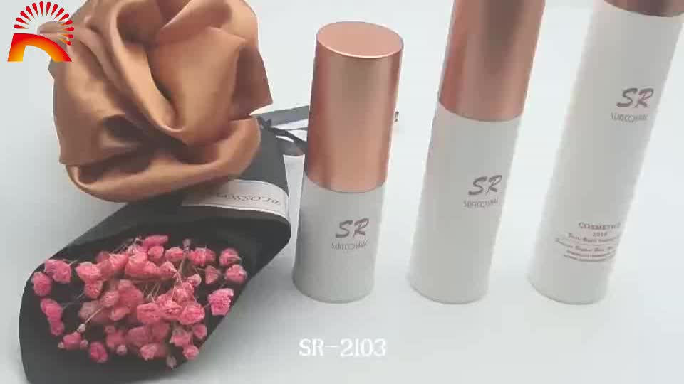 15ml 30ml 50ml Beauty cosmetics body lotion plastic airless pump cosmetic bottles