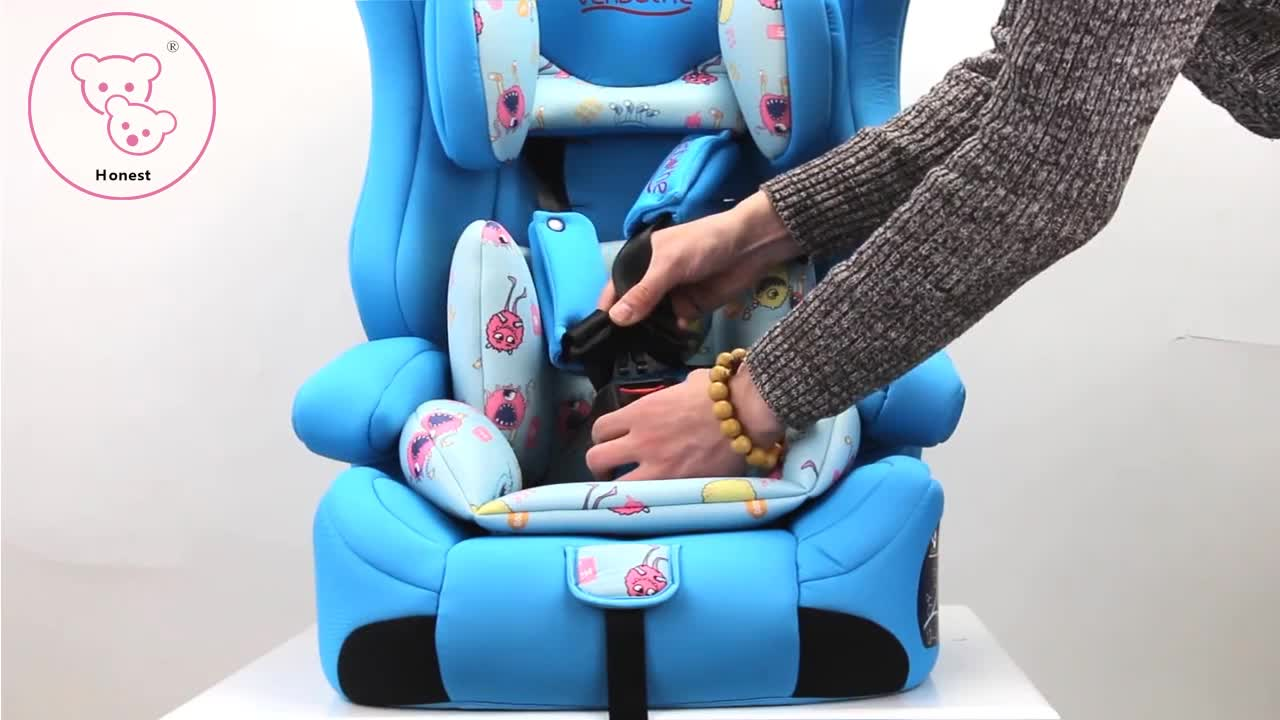 ECE R44/04 infant car seat group 1+2+3 baby car seat