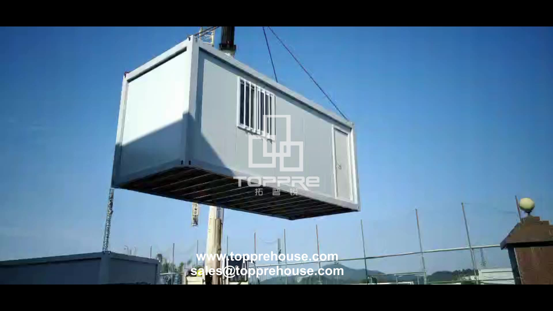 Sandwich panel prefab houses customized low cost prefabricated steel structure container home of pvc
