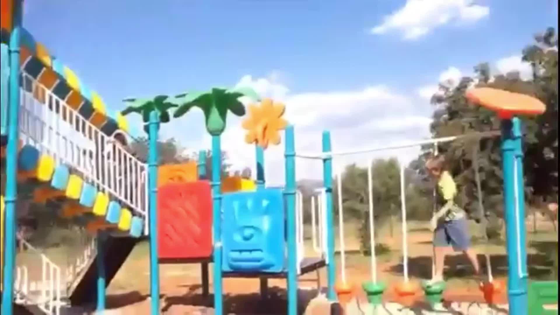 SGS en TUV Certificering kids outdoor speeltoestellen te koop
