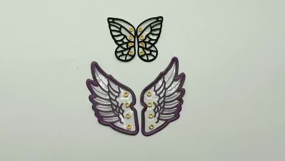 Adult fairy wing shoe decoration wings good for canvas shoe