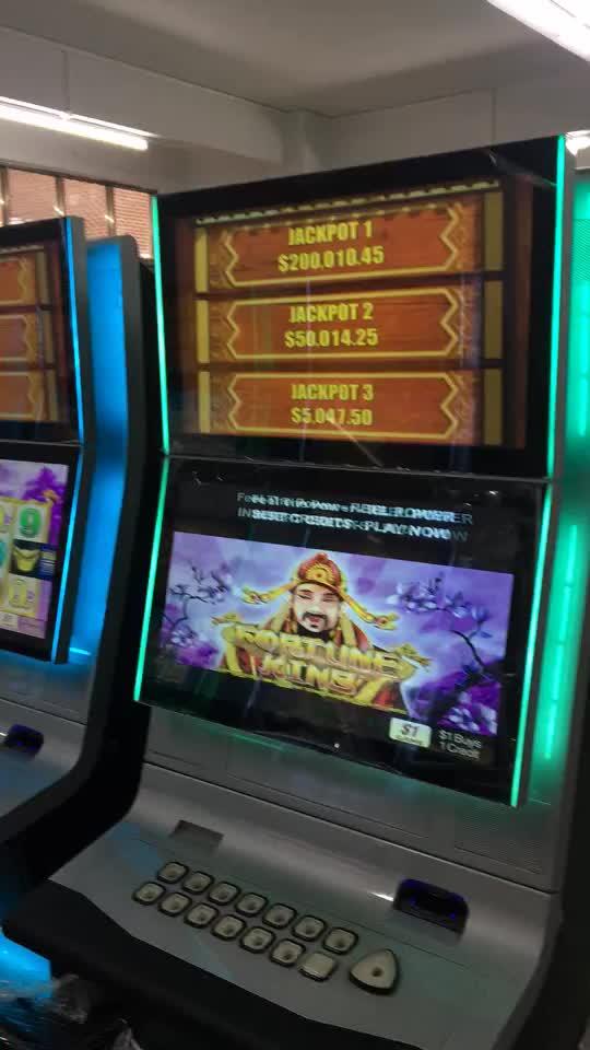 2019 Vídeo de Ganhar Dinheiro Moeda operado Máquina de Jogo de Slot Casino Gambling Coquetel de Frutas