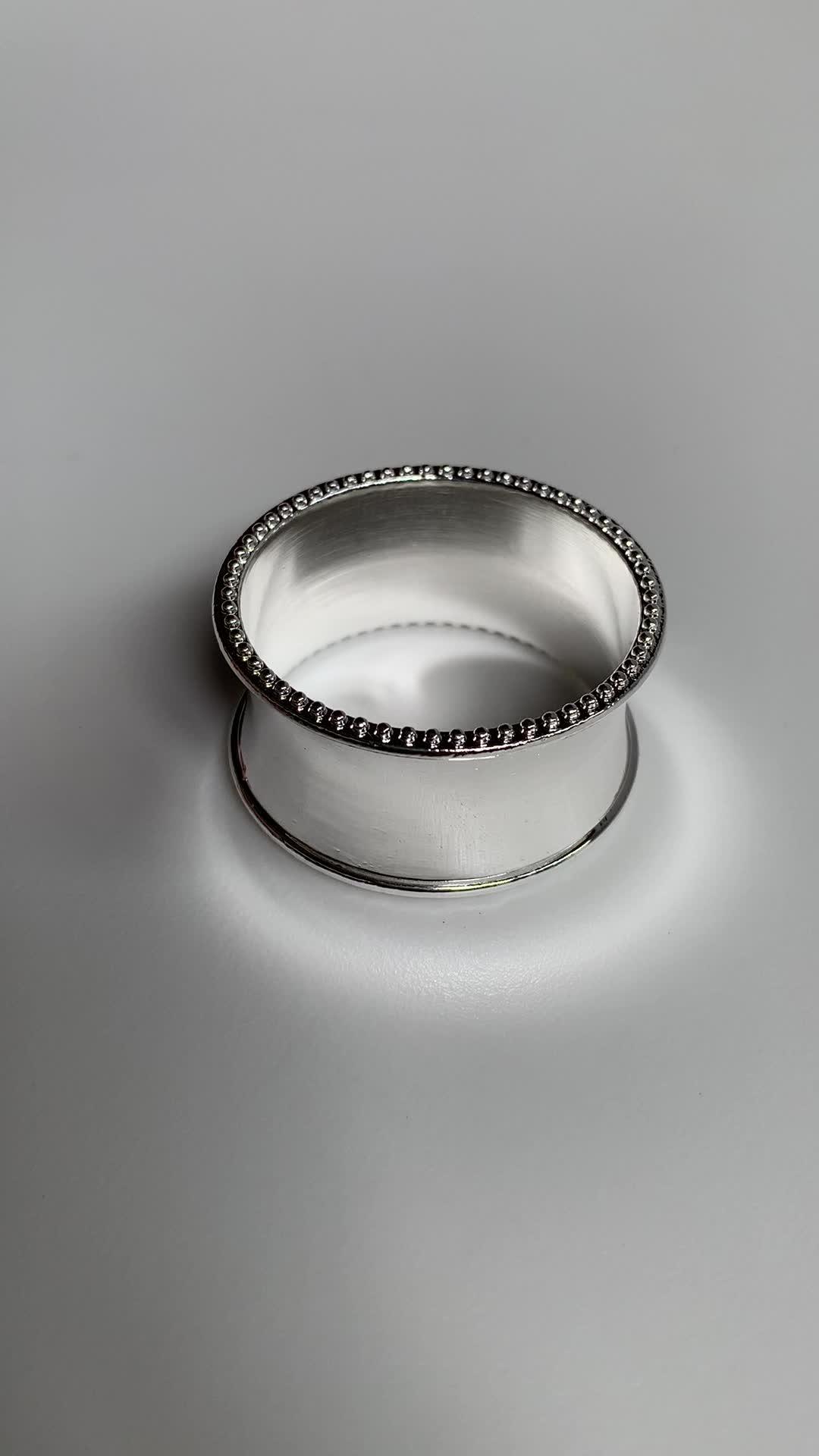 Bruiloft Tafel Metalen Ronde Rose Gold Servet Ring