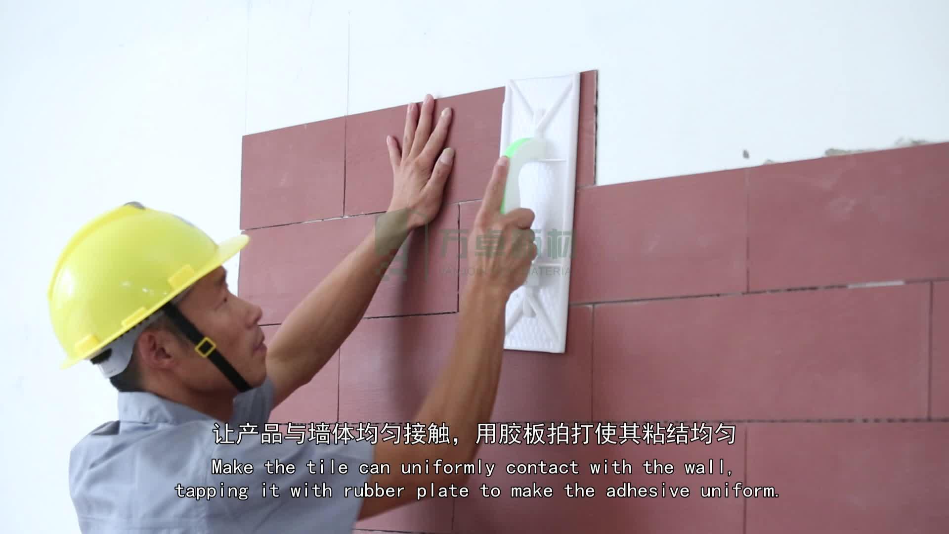 Projeto De Madeira do banheiro Piso de Cerâmica Parede de Azulejos Piso Adesivos