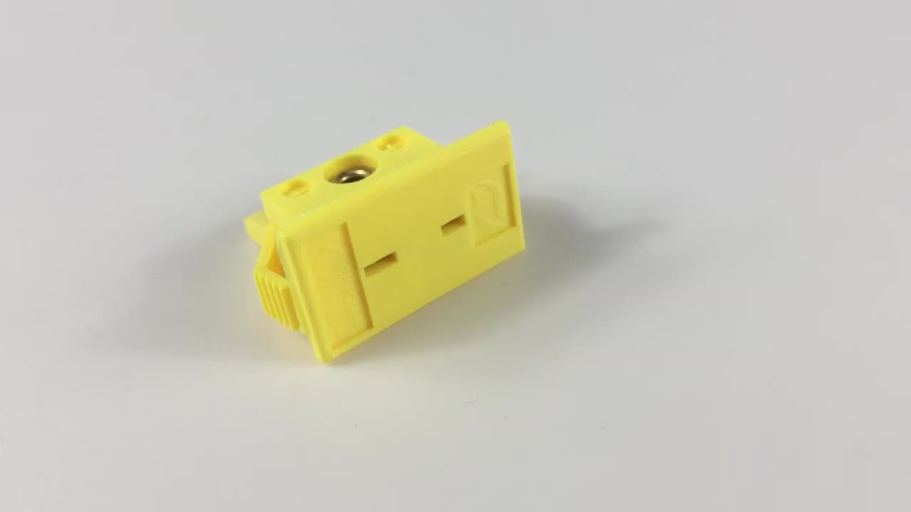 Flat Pin Panel Thermocouple Connector