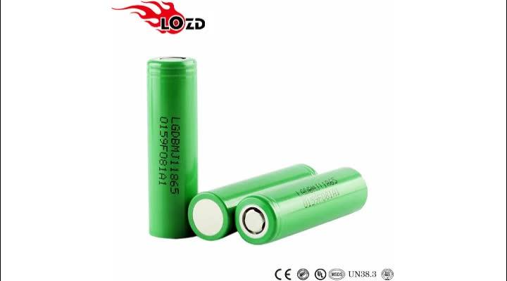 100% ursprüngliches Chem INR18650 MJ1 10a 18650 Batterie 3.7v Li-Ion 3500mah nachladbare Batteriezelle lg 18650 3500