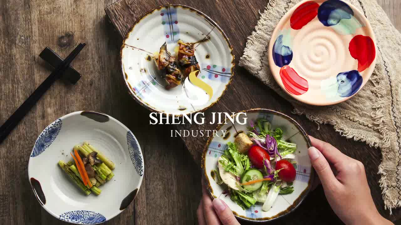 Panjang Plat Keramik 45 Cm Porselen Jepang Peralatan Makan untuk Sushi Makanan Penutup Makanan Ringan