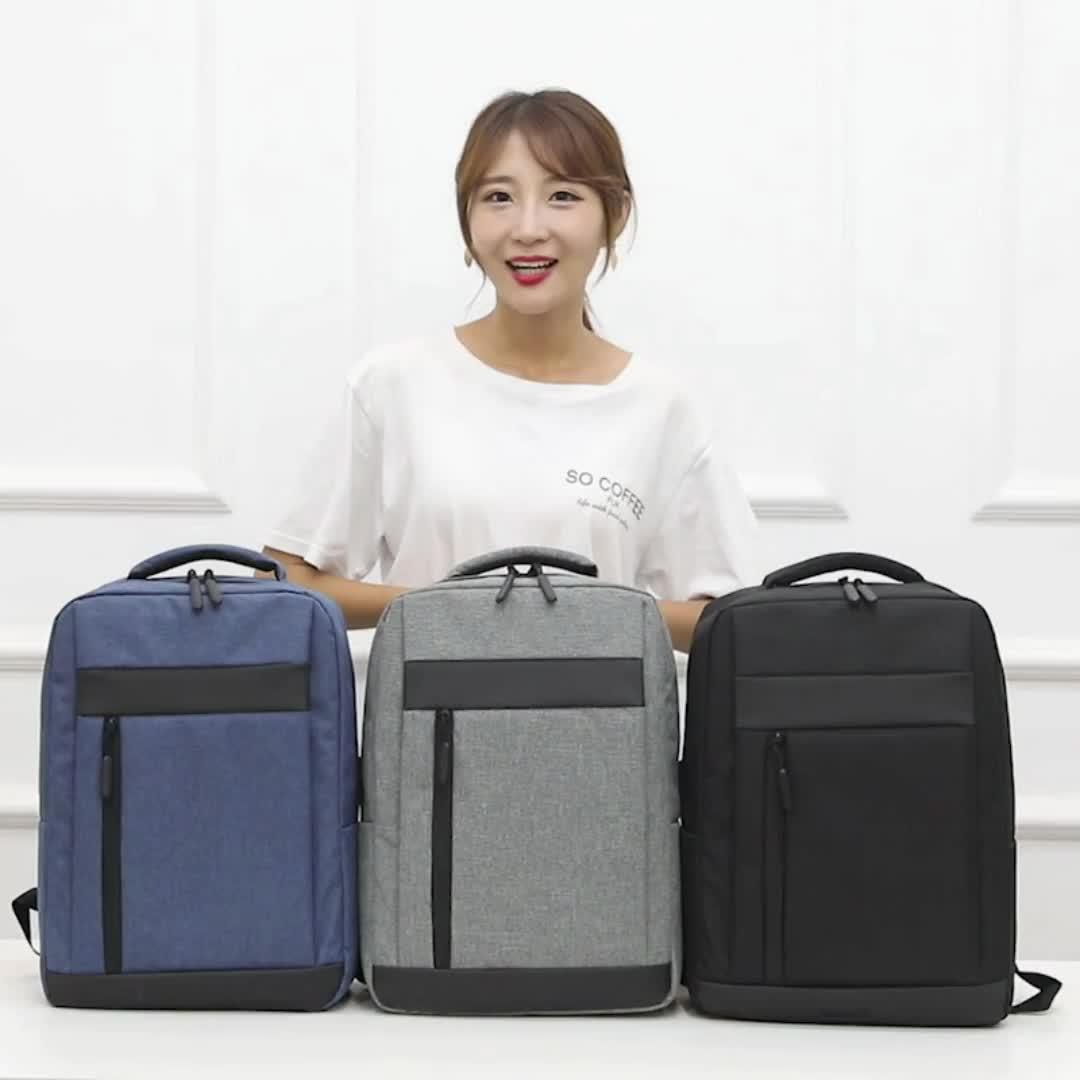 Laptop school rugzak met lader nieuwe ontwerp rugzak met laptop compartiment schooltassen trendy rugzak