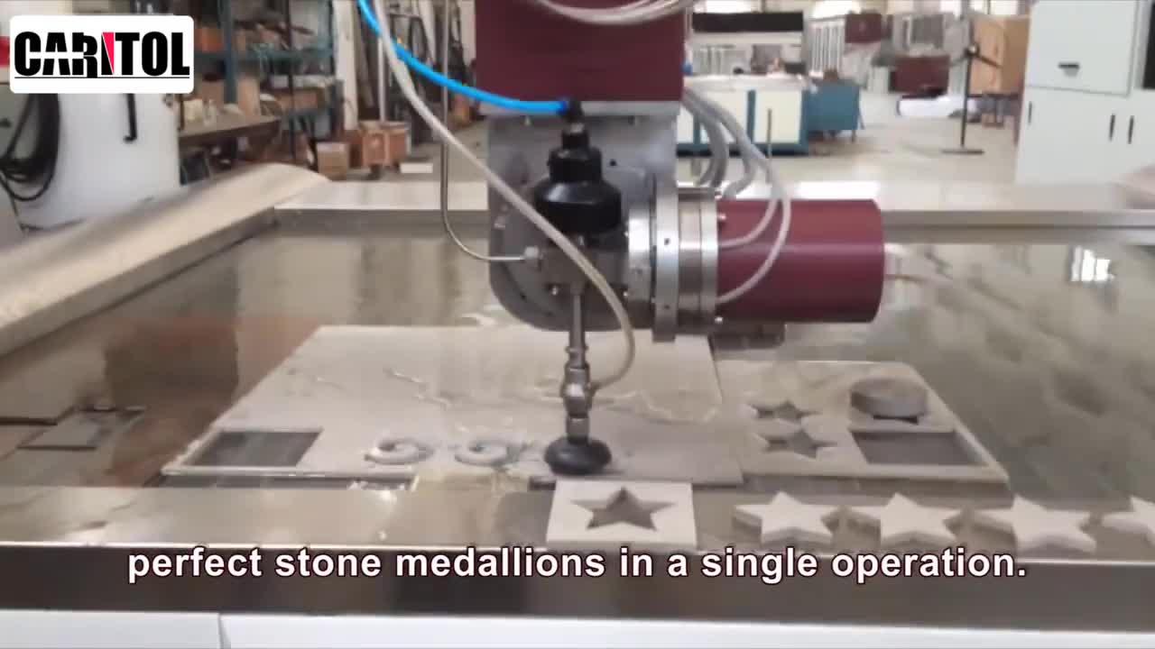 Wbk8 Automatic Tile Marble And Granit 45 Degree 5 Axis Water Jet Waterjet Cutting Machine China For Nature Stone