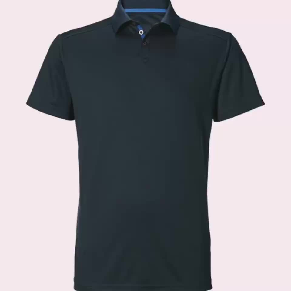 blank 100 cotton t shirts, organic cotton t shirt, mens clothing polo shirt with button(7 years alibaba experience)