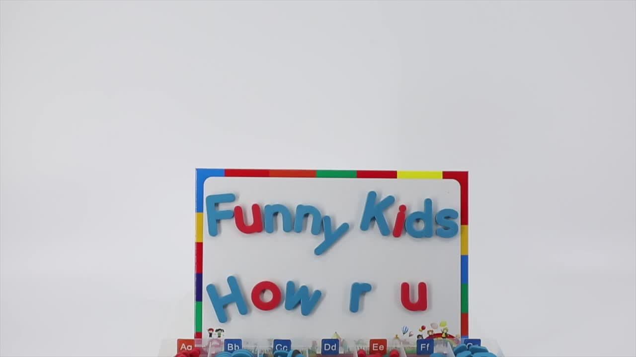 Factory Directly Sale Amazon 2019 Hot Alphabet ABC EVA Magnetic Letters Educational Baby Toys