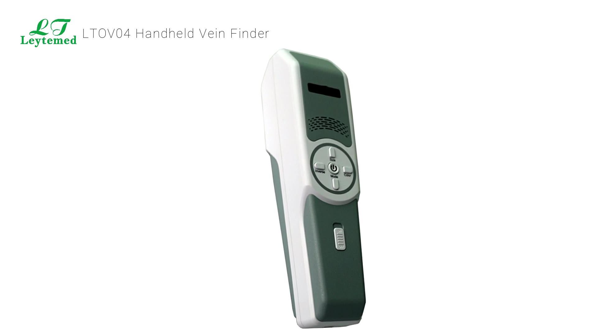 LTOV04 Top sale hospital infrared handheld vein Finder for patient