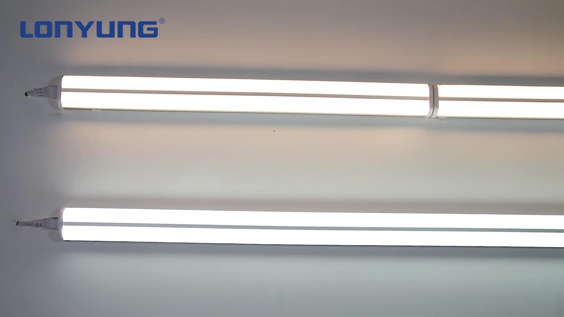 Schnelle wärme kühlung aluminium führte schlauch t5 doppel rohre für besser beleuchtung