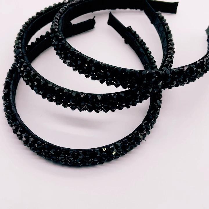 Più Nuovo Della Signora di Disegno Glitter Hairband Shiny Paillettes Partito Hairbands