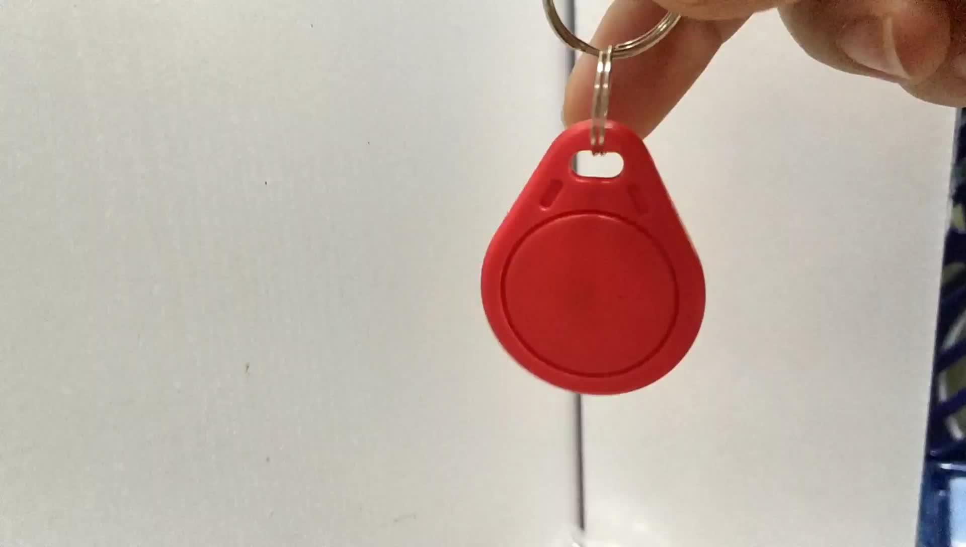 Gaya Baru Bahan ABS 125 KHz ATA5577 RFID Keyfob untuk Sistem Kontrol Akses