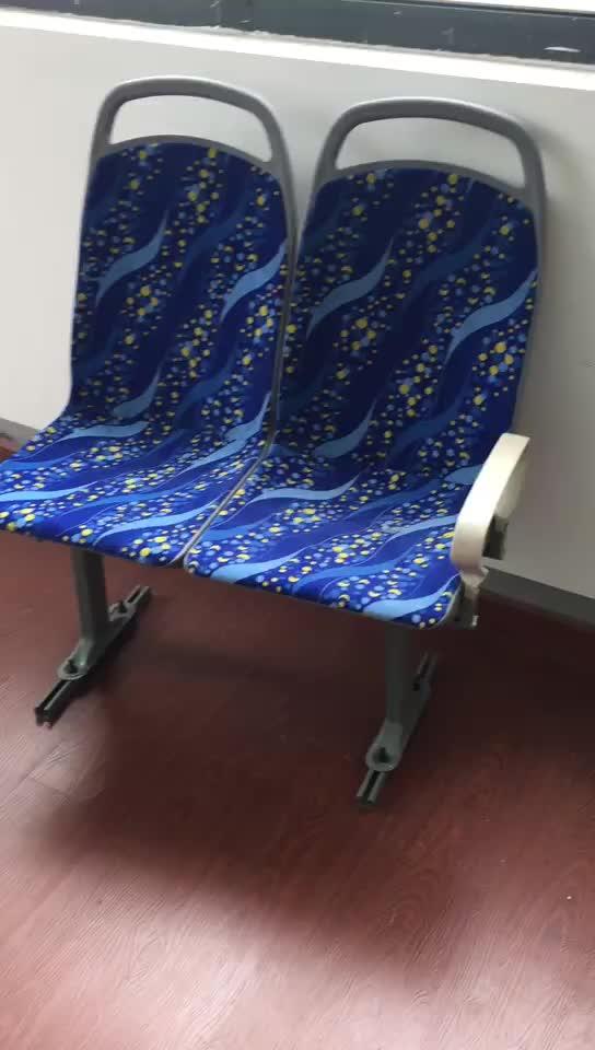 Cadeiras de estádio de futebol de plástico/alumínio retrátil
