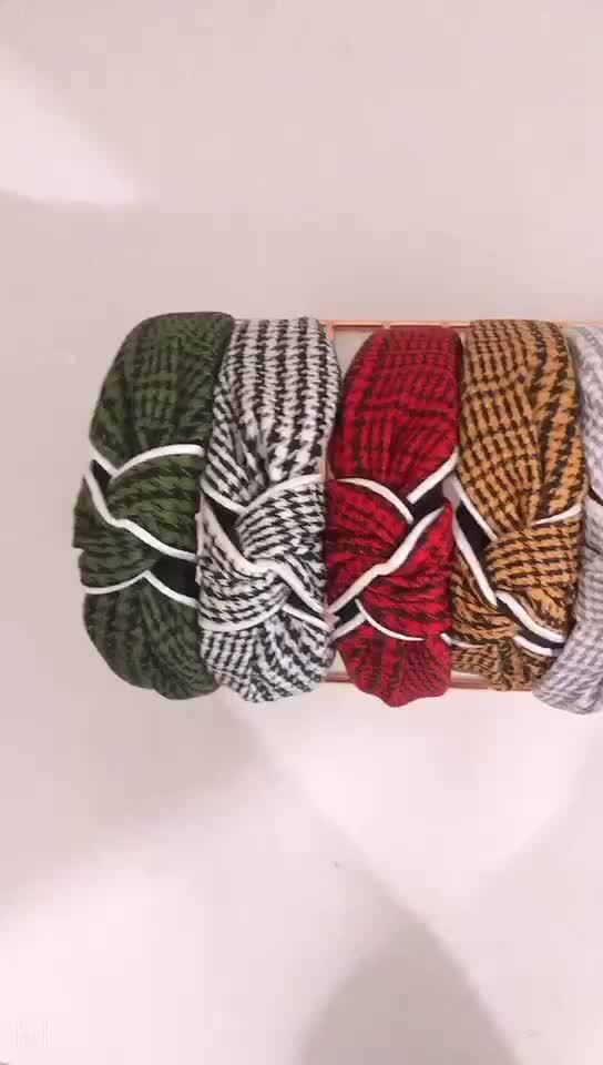 Türük QIYUE yeni Broadside saç çember kumaş basit renkli kafa çember nefes saç bandı kadın saç bantları