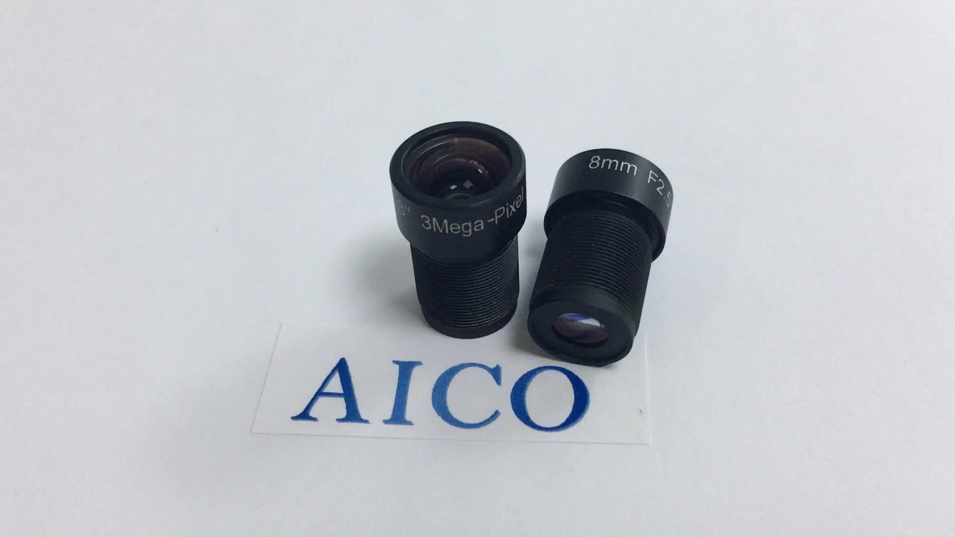 """F = 8.5mm 1/1. 8 """"F2.5 3mp 8.5mm m12 lente macro cctv bordo mac"""