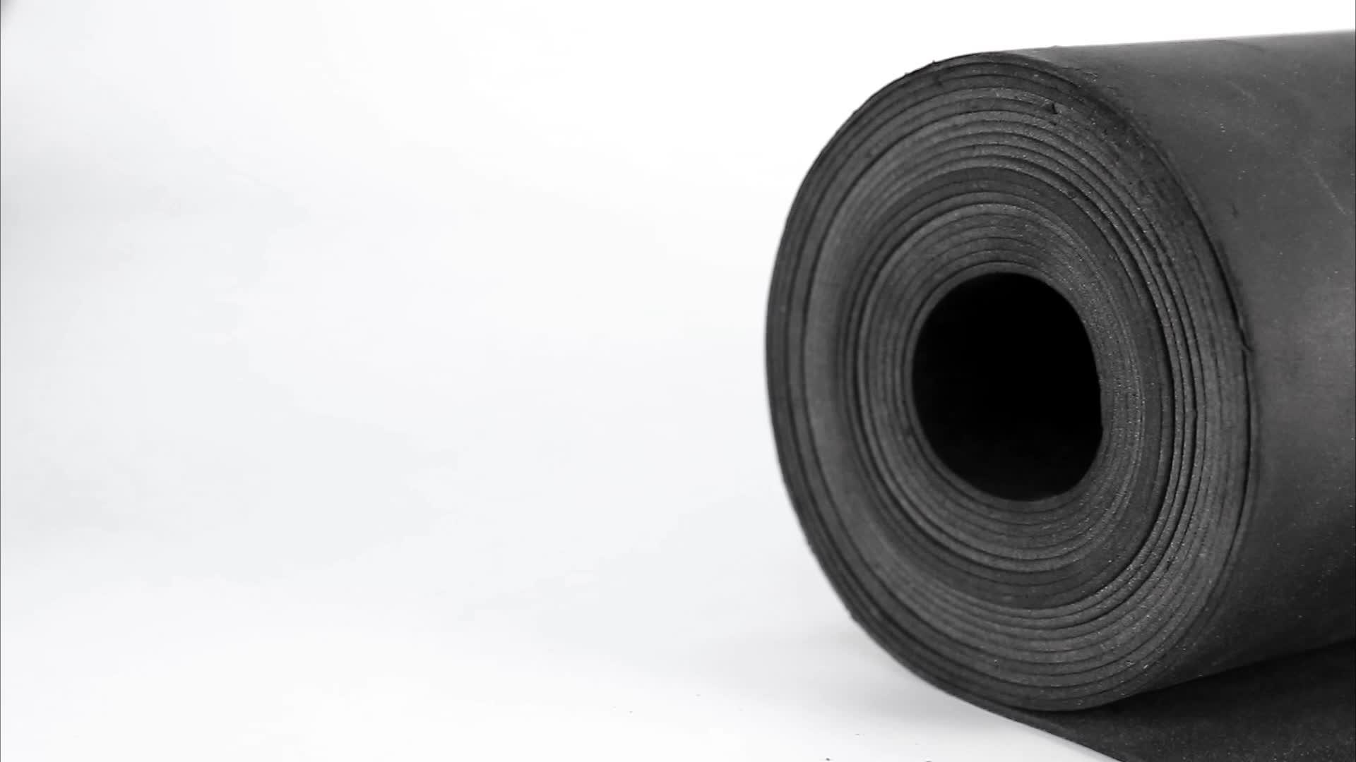 """1/8"""" 두께 대량로드 비닐 소음 blok"""