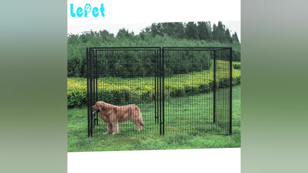 Welded Wire Mesh Large Dog Cage Dog Run Kennel Dog Run Fence Panels ...