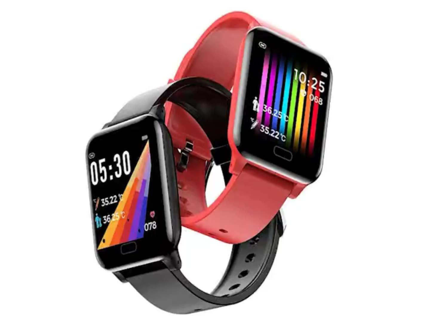 2020 bluetooth top smartwatch corps température android montre intelligente