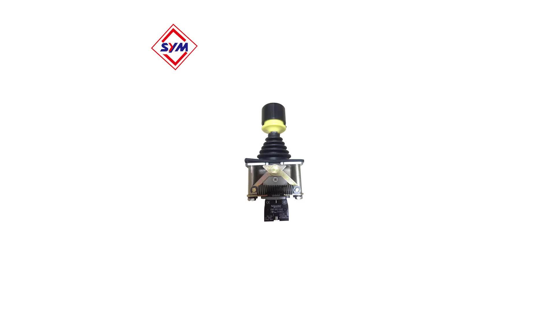 Techmation contrôleur hitachi contrôleur de pelle hydraulique joystick