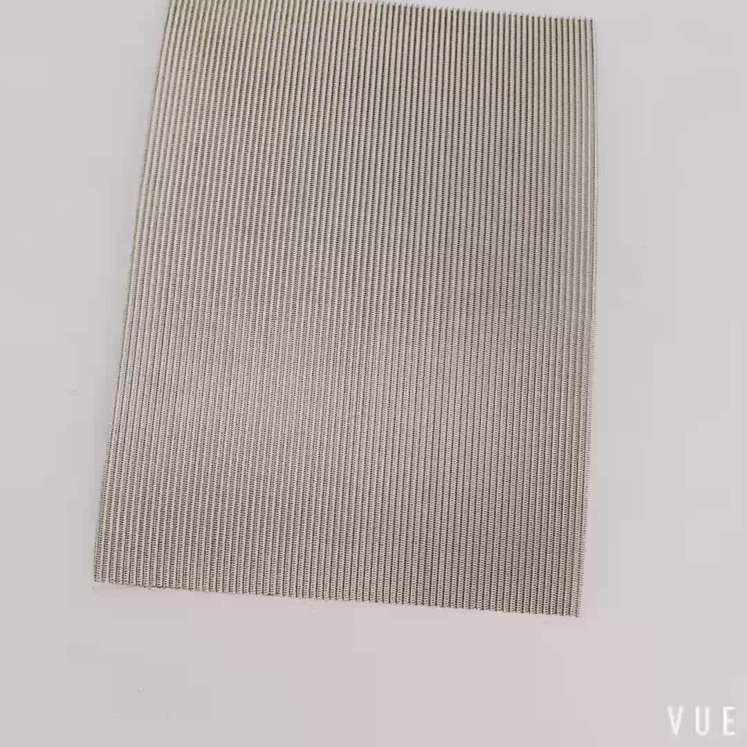 304 316 316L stainless steel woven wire 3 5 10 mesh metal security guard garden screen