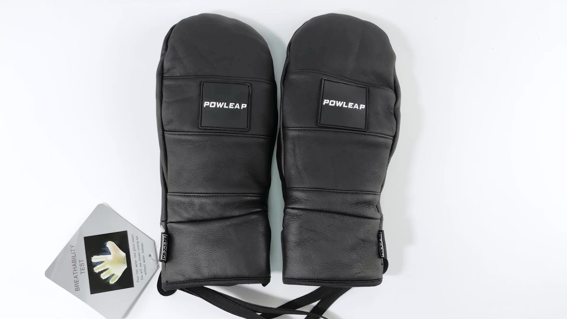 2021 vendita bene miglior impermeabile guanti sci più caldo freddo sci snowboard guanti uomo donna inverno caldo