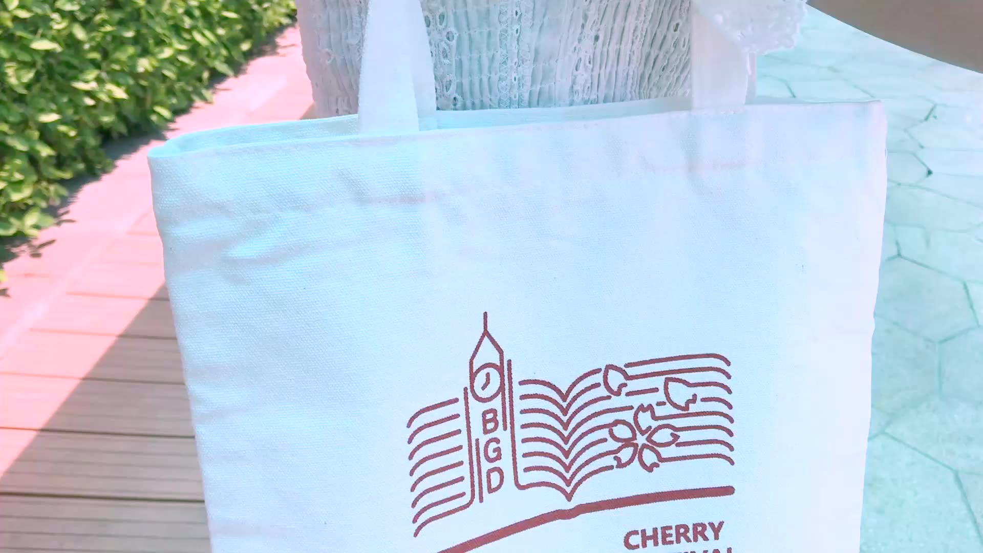 Wholesale Custom Printed Logo Gift Small Canvas Tote Bag Canvas Bag