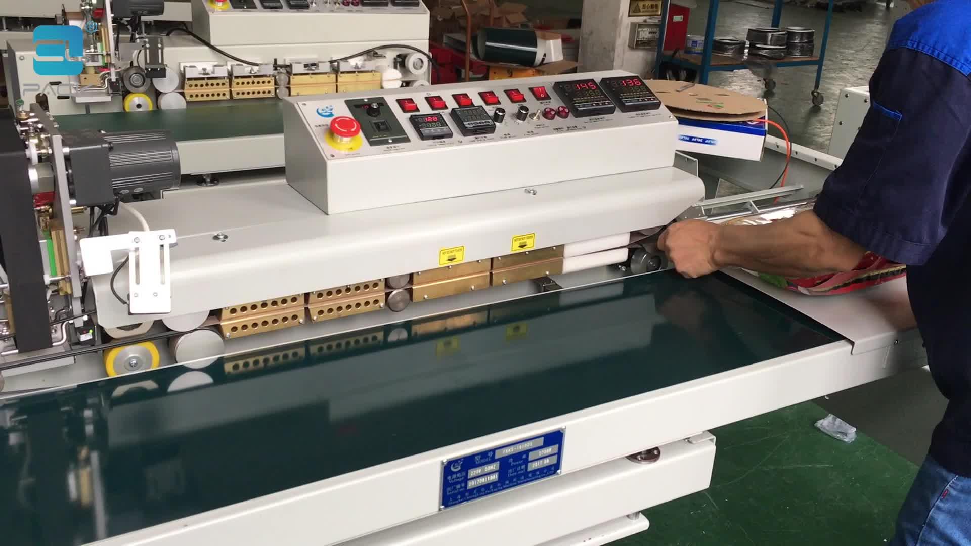 FRKS-1620QS Plastic Packaging Sealer Hermetic Seal Packing Machine CLPACK