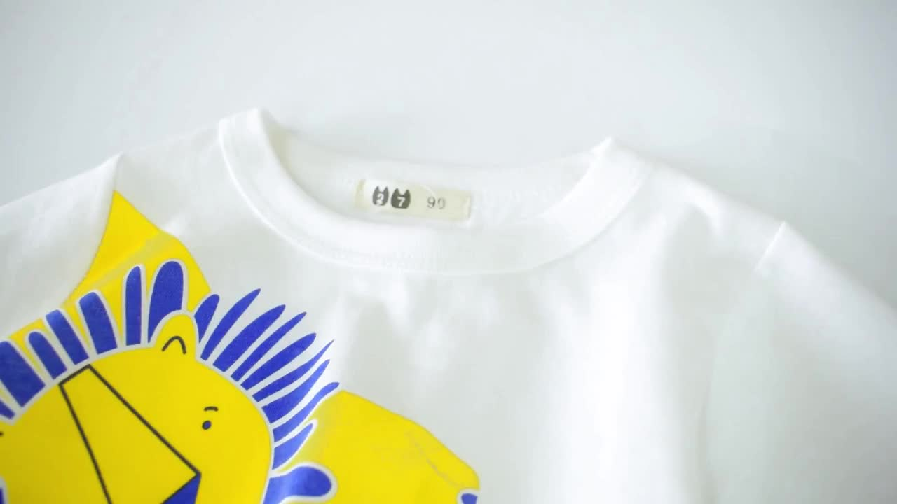 Kids Summer 2 Year Old Toddler Boy Boutique Clothing Casual T Shirts Wholesale