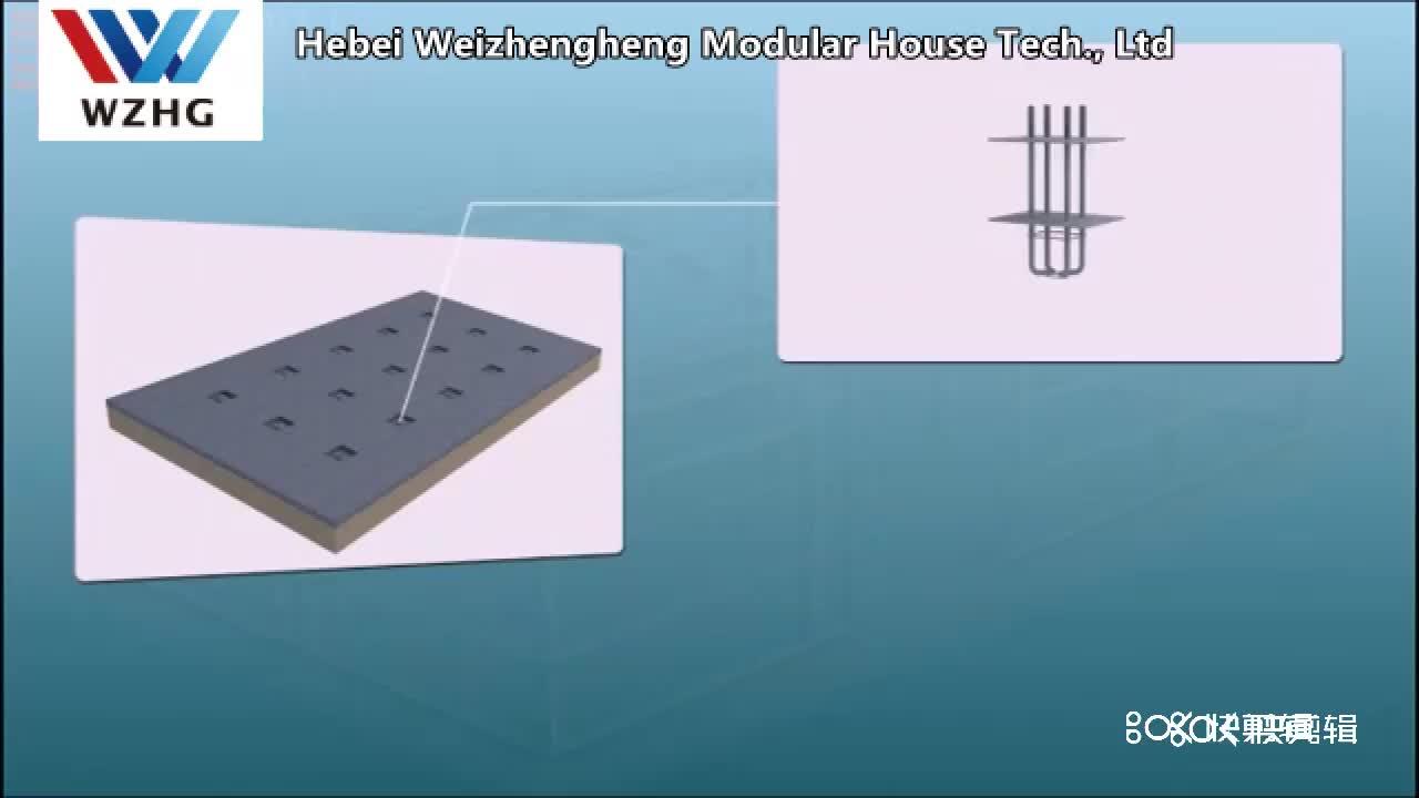 Vorgefertigte Stahl lager/werkstatt/hangar/halle stahl struktur preis