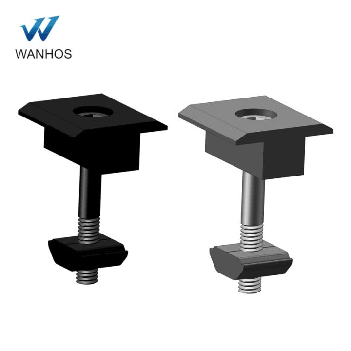 2018 PV Solar Mounting Brackets Mid Clamp