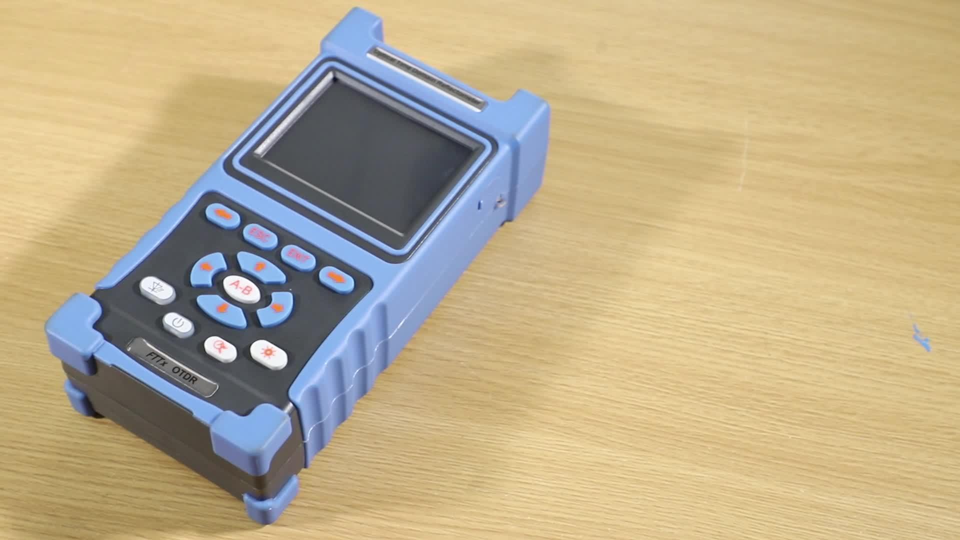 1310/1550nm 32/30dB mini OTDR fiber optik dahili VFL FC/UPC port renkli dokunmatik kullanımı ekran PG-1200B