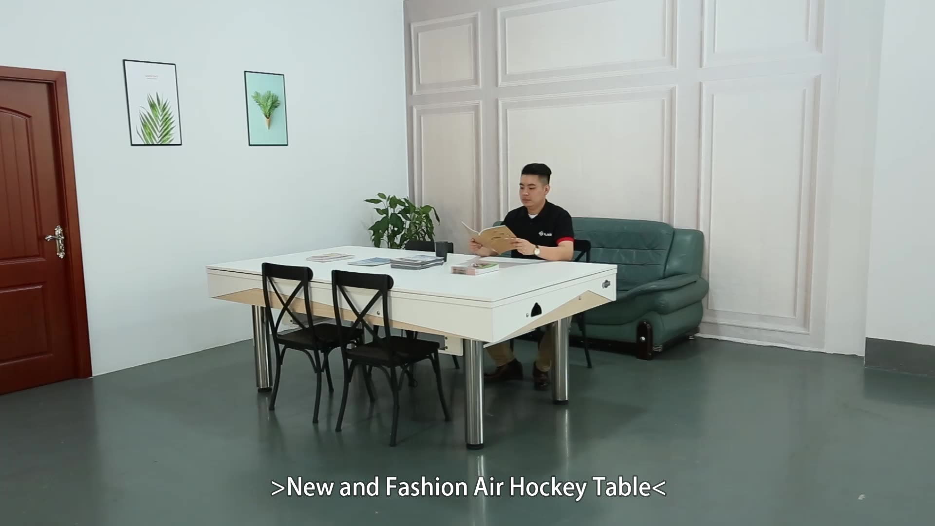 Electronic Operated Ice Game For Adult New Design Air Hockey Table