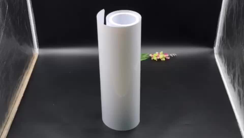 Hot Sale 0.45mm High Gloss White Plastic HIPS Film Roll Sheet For Thermoforming