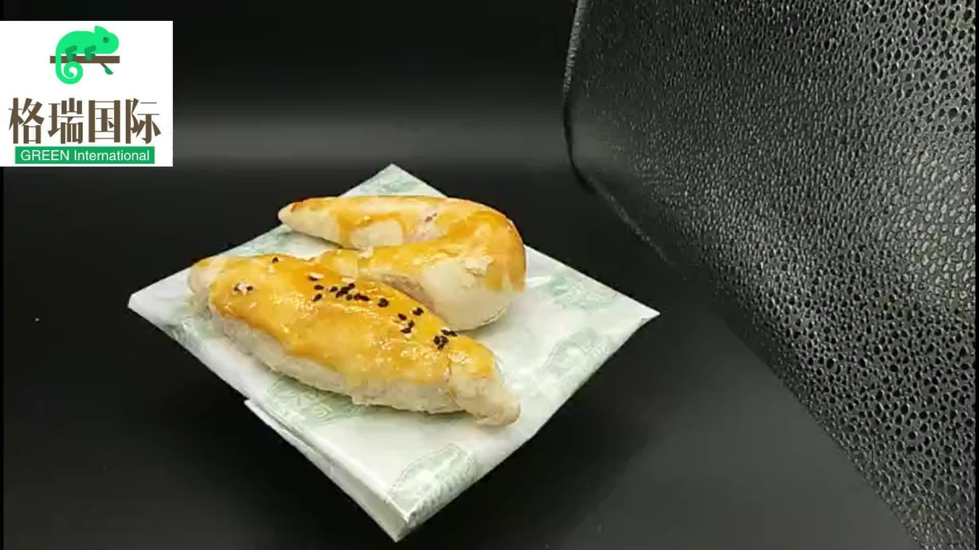 Custom Logo Food Grade Pergament Burger Gedruckt Sandwich Wrap Papier