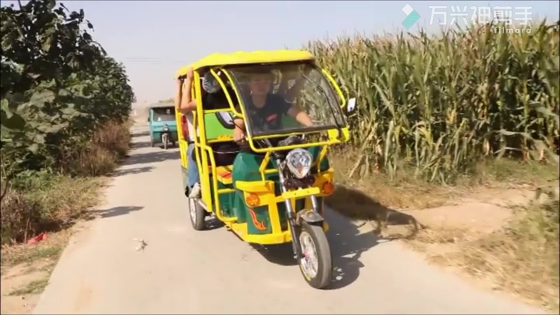 Electric H power auto rickshaw electric rickshaw