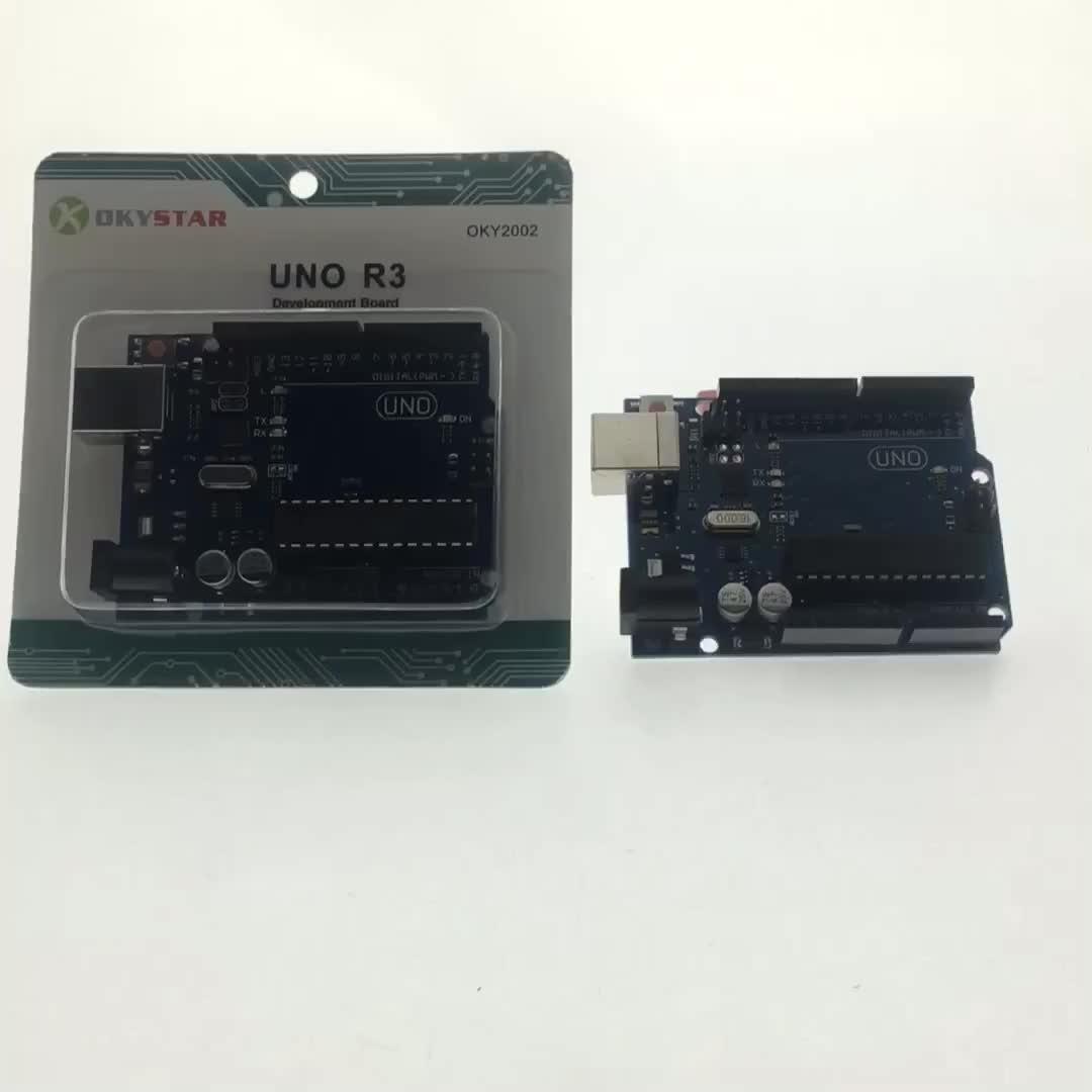 Okystar Development Board Mega16U2 UNO R3 Atmega328P for Arduino