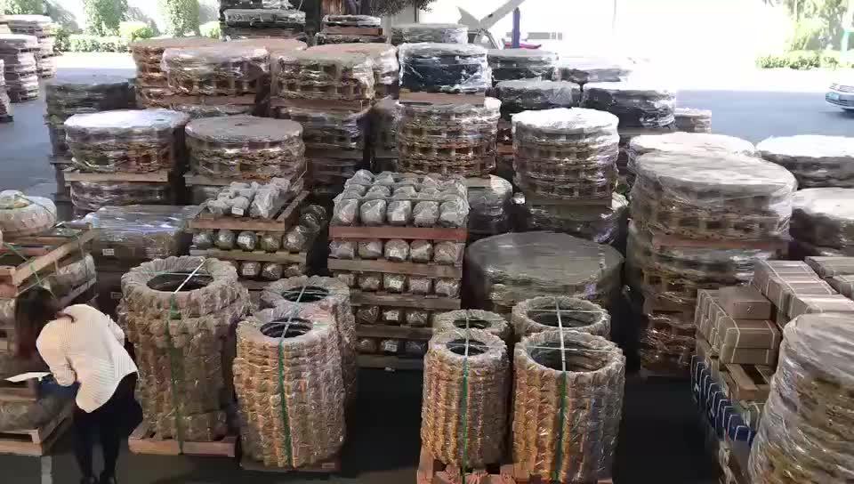 Gato doosan de rastrear pc200 ex200 asamblea para hitachi excavadora para la venta berco