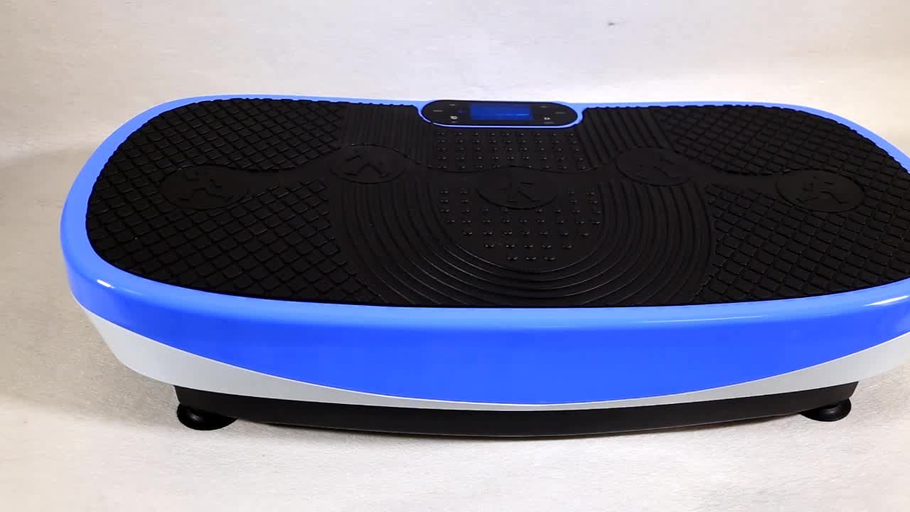 2020 Newest Custom Power Dual Motor Fitness Whole Body 3D 4D Vibration Plate