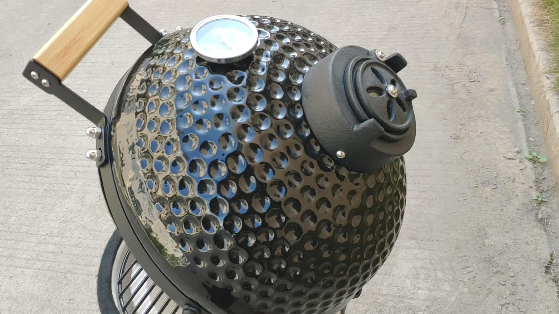 Auplex оборудование для выпечки 14 дюймов портативный открытый мини глиняная печь