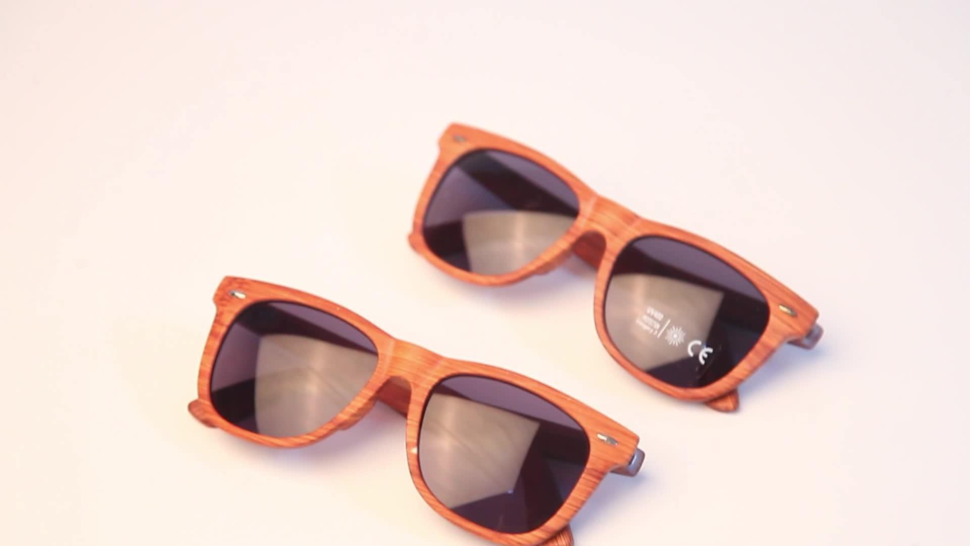Commercio all'ingrosso di Alta Qualità di Modo Degli Uomini Su Ordinazione Delle Donne Telaio In Legno Occhiali Da Sole Occhiali Da Sole In Magazzino