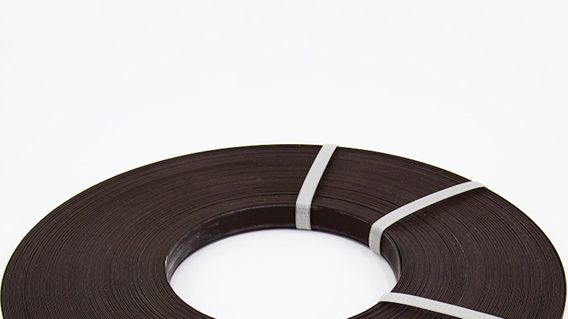 สีทึบ/ไม้สีABS PVCขอบแถบสำหรับเฟอร์นิเจอร์