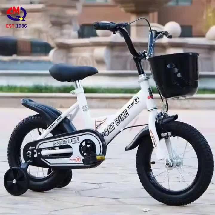 Fabrika ucuz fiyat çocuk bisikleti sıcak satış 12 14 16 inç çocuk bisikleti eğitim tekerlekleri ile