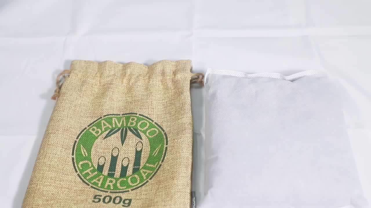 Natural Bamboo charcoal Odor Absorber Bag